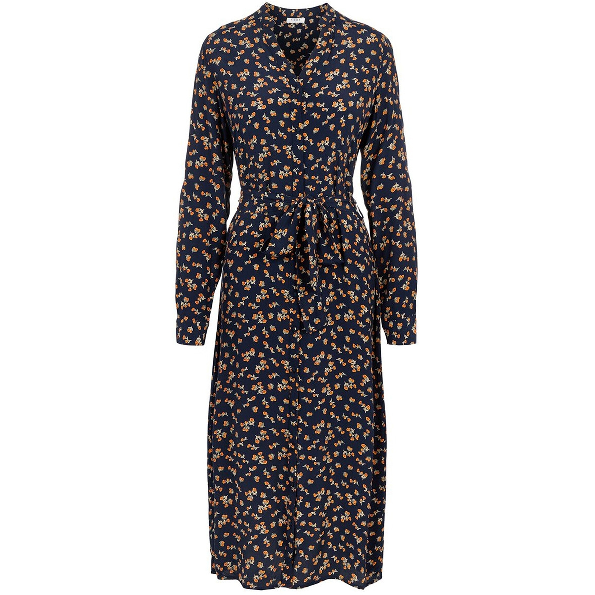 pcsikko ls shirt dress d2d 17104523 pieces jurk navy blazer/flower