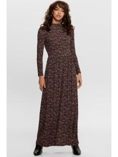 Jacqueline de Yong Jurk JDYSVAN L/S AOP DRESS JRS RPT1 15202713 BLACK/SVAN