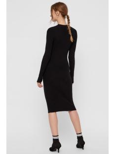 pcjade ls t neck knit dress 17101149 pieces jurk black