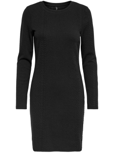 Only Jurk ONLJACKIE BODYCON L/S DRESS JRS 15191260 Black