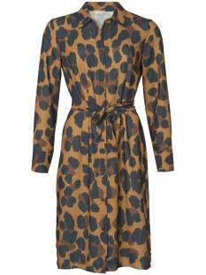 Geisha Jurk MAXI DRESS 97845 24 000240 Mustard/Black