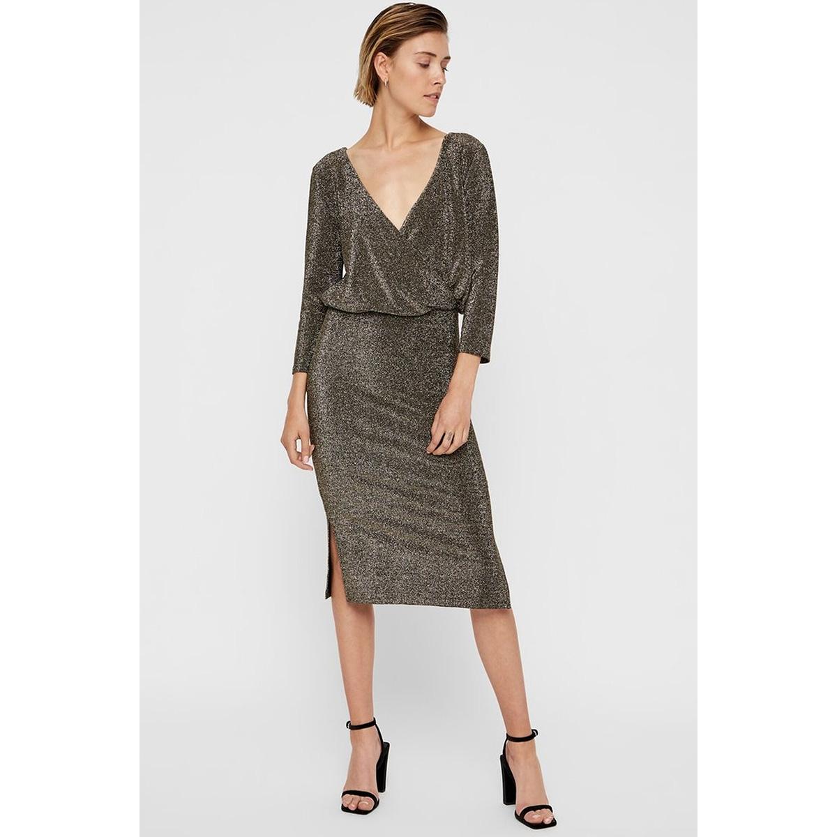 nminfinity 3/4 dress 7 27009114 noisy may jurk gold colour