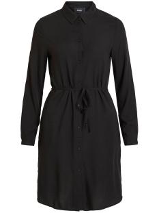Object Jurk OBJDINAH L/S BAY SHIRT DRESS .I 106 23031637 Black