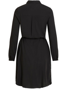 objdinah l/s bay shirt dress .i 106 23031637 object jurk black