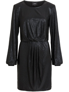 Object Jurk OBJSHINE L/S DRESS 106 23030704 Black