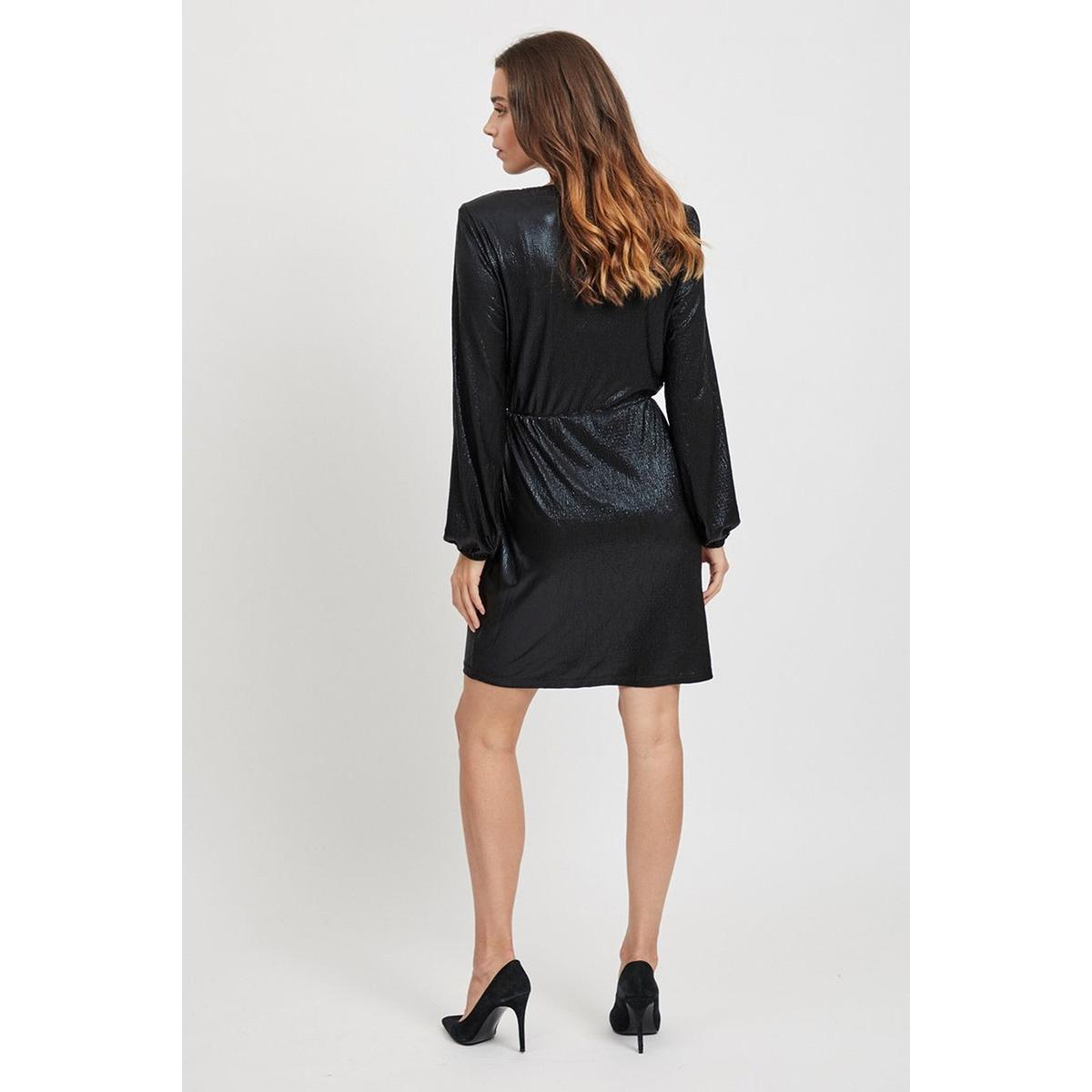 objshine l/s dress 106 23030704 object jurk black