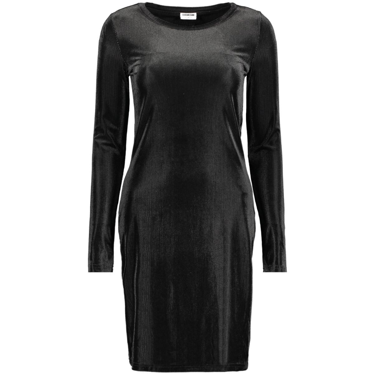nmzanna l/s short dress 7 27009187 noisy may jurk black
