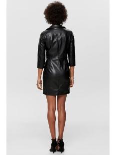 onljannie faux leather dress otw 15189638 only jurk black