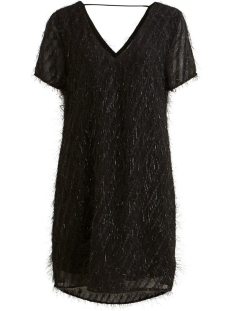 Vila Jurk VILOCO S/S DRESS 14054893 BLACK