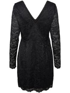 vmdora lace  ls short dress jrs boo 10221694 vero moda jurk black