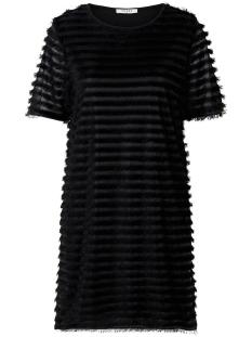 pcjane ss dress 17100379 pieces jurk black