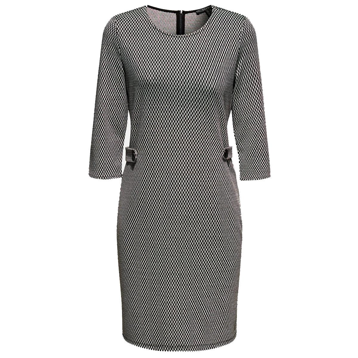 kokerjurk van jersey  met motief 119eo1e002 esprit collection jurk e030