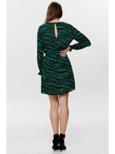 jdypearl l/s smock dress wvn 15193564 jacqueline de yong jurk botanical garde/zebra