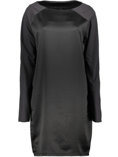 sporty dress satin 20 333 9104 10 days jurk black