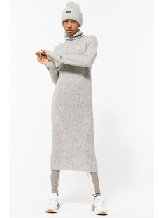 10 Days Jurk COLL DRESS 20 635 9104 4001 LIGHT GREY MELEE