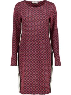 dress 97865 60 geisha jurk 000675 navy/ red comb