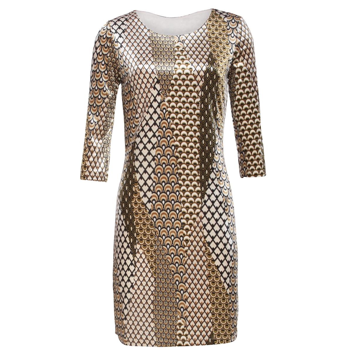 dress 19854 smashed lemon jurk 025/999