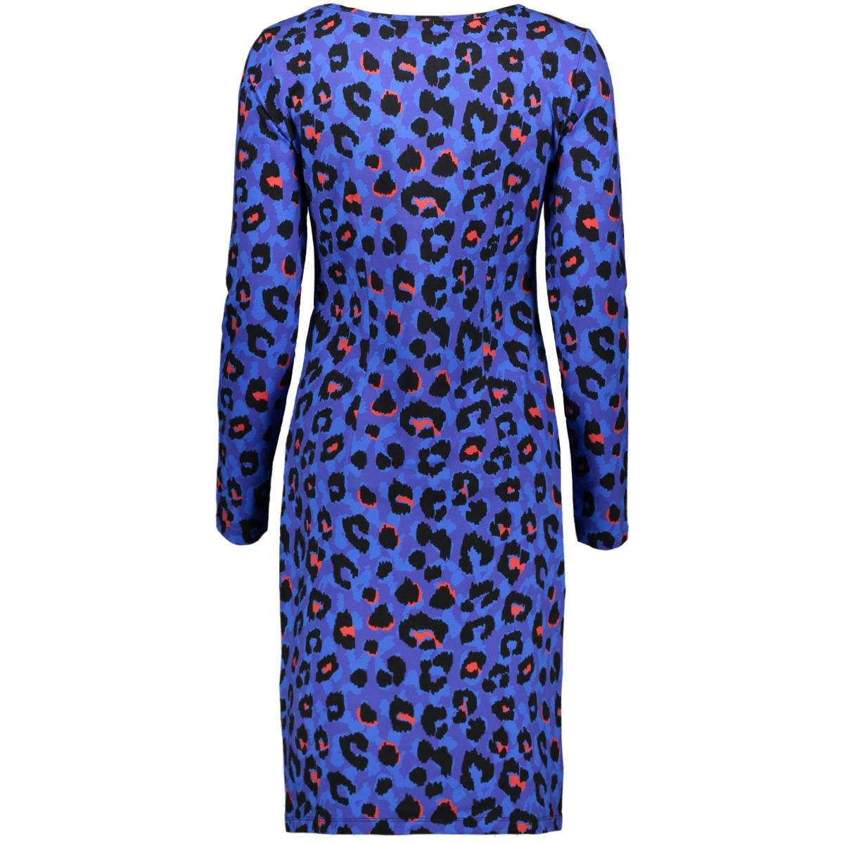 dress 19921 smashed lemon jurk 625/450 blue/ red
