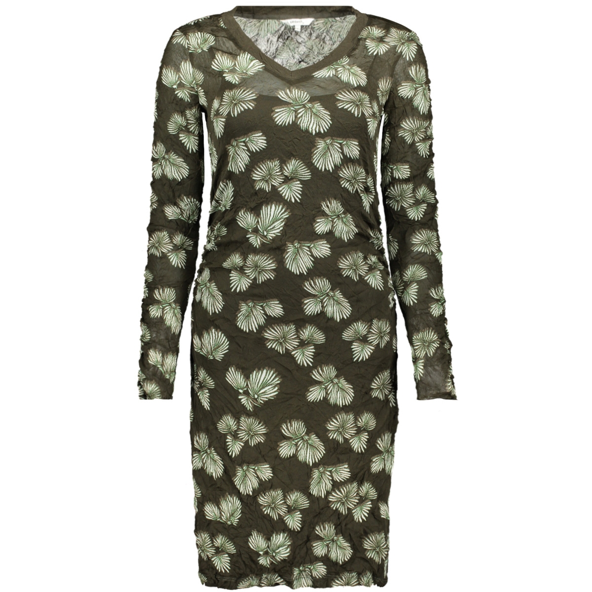 jurk met print 23001448 sandwich jurk 59046