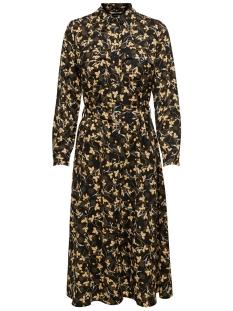 Only Jurk ONLWINDY L/S SHIRT DRESS WVN 15201583 Black/BLACK W. L