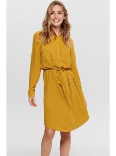 Jacqueline de Yong Jurk JDYPAUL L/S SHIRT DRESS WVN 15192585 Chai Tea