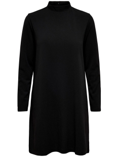 Jacqueline de Yong Jurk JDYCARMA TREATS L/S HIGHNECK DRESS 15186549 Black