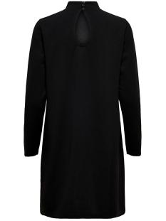 jdycarma treats l/s highneck dress 15186549 jacqueline de yong jurk black