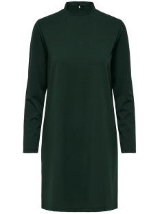 Jacqueline de Yong Jurk JDYCARMA TREATS L/S HIGHNECK DRESS 15186549 Scarab