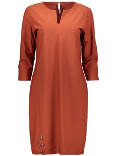 classy winter travel dress 195 zoso jurk winter brique