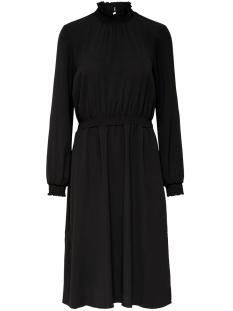 onlnova lux solid smock high dress 15198440 only jurk black