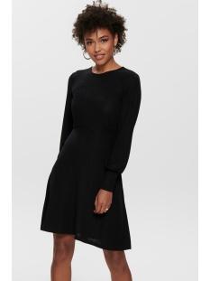 Jacqueline de Yong Jurk JDYFREI L/S CUFF DRESS JRS 15185958 Black/BLACK LUREX