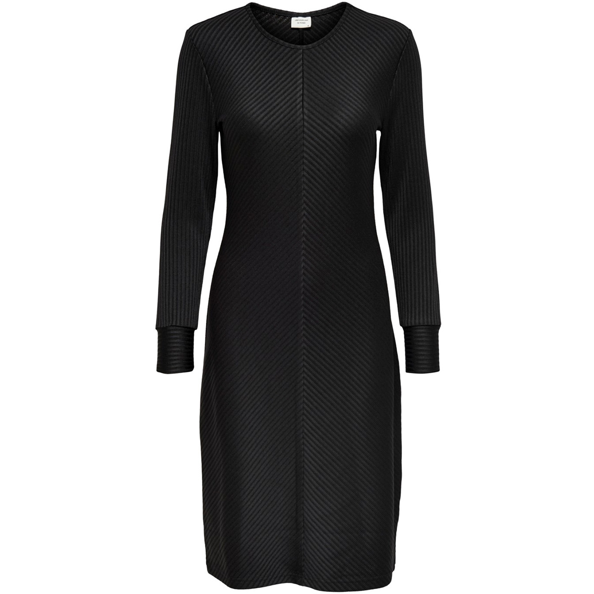 jdytabby l/s striped dress jrs exp 15188062 jacqueline de yong jurk black
