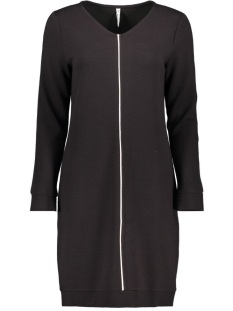 Zoso Jurk 195 LOENA FANTASY FABRIC DRESS BLACK