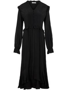 pclisa ls midi dress d2d 17104319 pieces jurk black