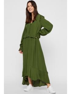 pclisa ls midi dress d2d 17104319 pieces jurk garden green
