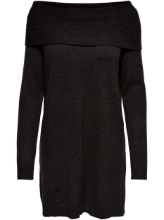 Only Jurk ONLKAYSA L/S COWLNECK DRESS KNT 15183568 Black