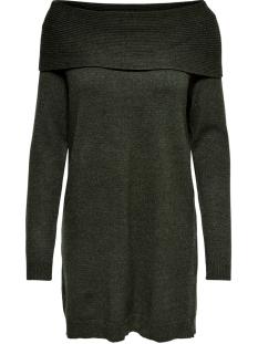 onlkaysa l/s cowlneck dress knt 15183568 only jurk beluga