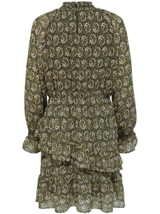 onlkiara chiffon ls midi smock dres 15198108 only jurk kalamata/paisley
