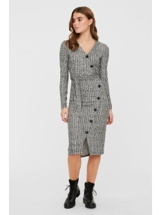 Noisy may Jurk NMTYLER L/S DRESS 27010437 Dark Grey Melange