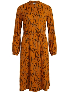 VIMITZY KALDA  L/S SHIRT DRESS/L 14059188 Pumpkin Spice/KALDA