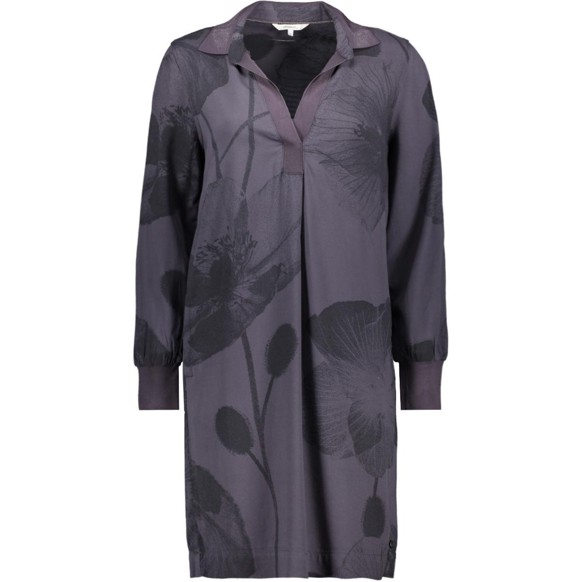 jurk met bloemenprint 23001665 sandwich jurk 80027