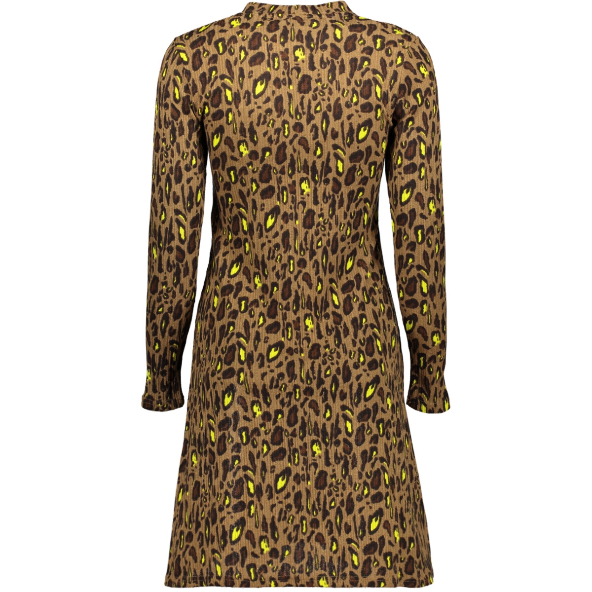 onllea l/s dress jrs 15193152 only jurk toasted coconut/cool leo 1