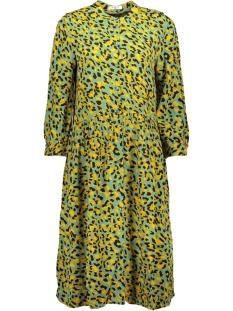 Pieces Jurk PCJEXA 3/4 SHIRT DRESS IF 17102342 Feldspar/LEO