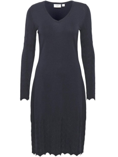 knitted dress w nedle dr 30501698 saint tropez jurk 9069 bl deep