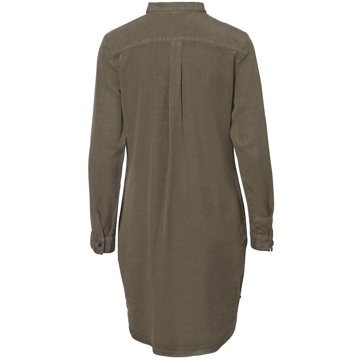 vmsilla ls short dress clr ga noos 10228934 vero moda jurk bungee cord