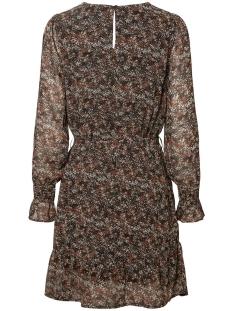 vmida ls short dress wvn ga 10225712 vero moda jurk black/aop ida