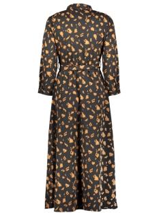 pcapril new 3/4 ankle dress 17102582 pieces jurk black/blc-mocha