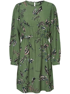 VMSUS L/S SHORT DRESS WVN 10225521 Comfrey/SUS