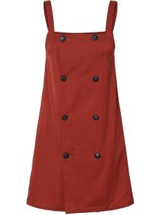 Jacqueline de Yong Jurk NMROBERT S/L DRESS 27010431 Burnt Henna