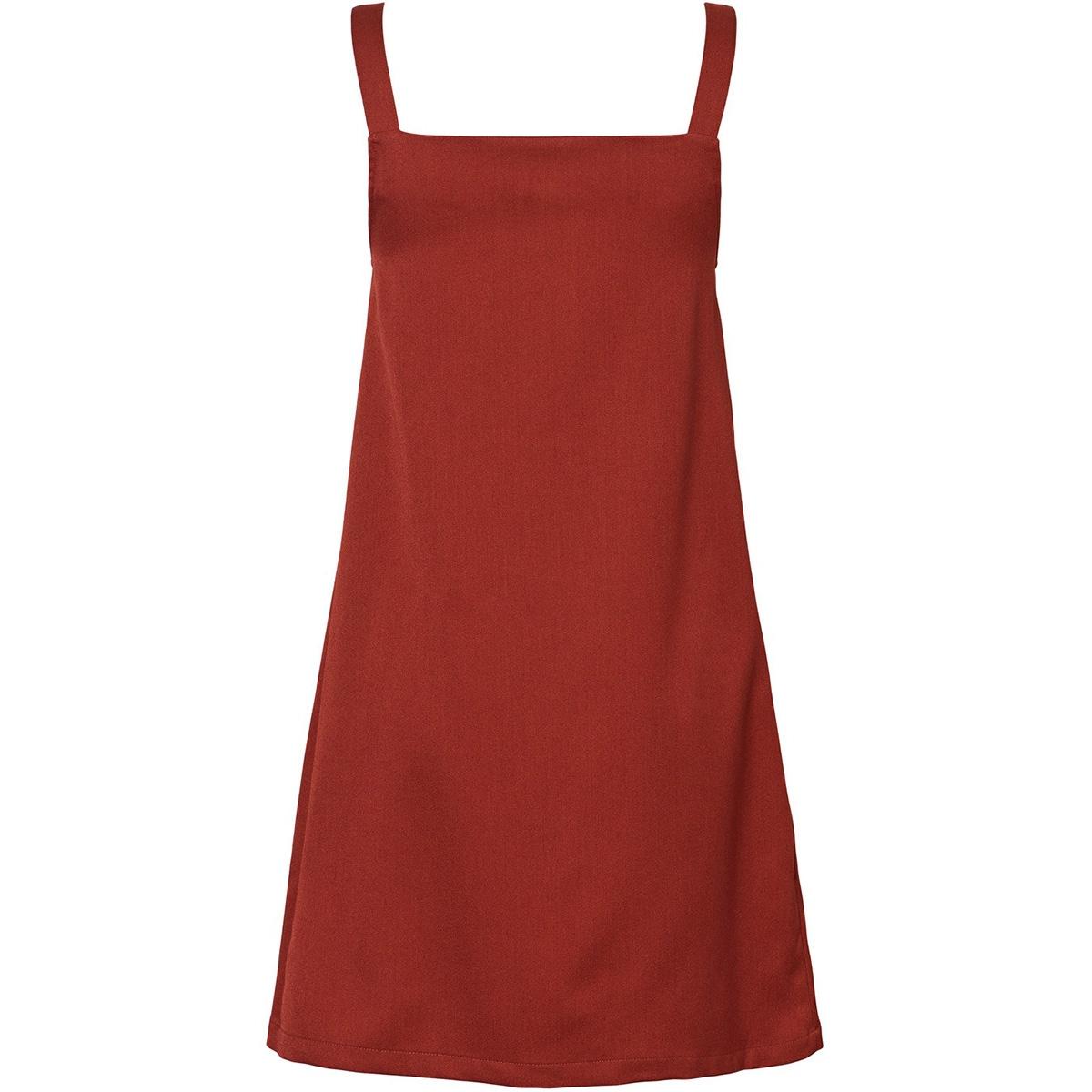 nmrobert s/l dress 27010431 noisy may jurk burnt henna